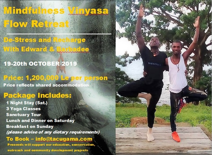 Yoga Flyer with Edward and Barbadee